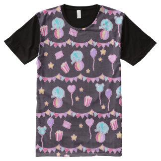Pastel Circus T Shirt All-Over Print T-Shirt