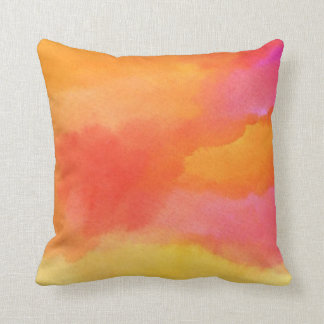 Pastel Clouds Throw Pillow