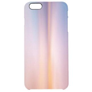 pastel color clear iPhone 6 plus case