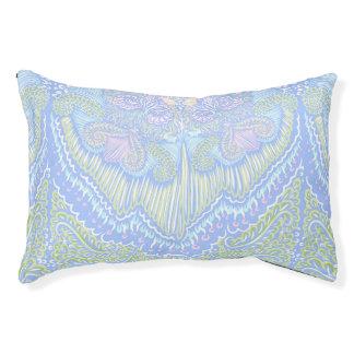 Pastel Color Flow Pattern Pet Bed