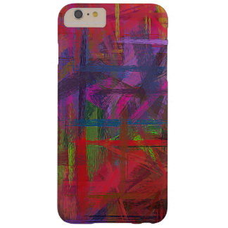 Pastel Colored Abstract Pattern #9 Barely There iPhone 6 Plus Case