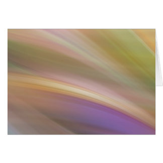 Pastel Colors Abstract Greeting Card