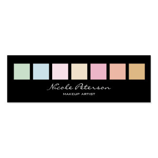 pastel colors Double-Sided mini business cards (Pack of 20)