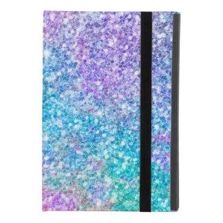 Pastel Colors Faux Glitter & Sparkles iPad Mini 4 Case