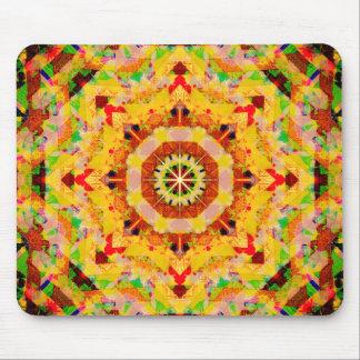Pastel Colors Mandala Mouse Pad
