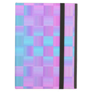 Pastel Colors  Mosaic Tile Pattern iPad Air Cover