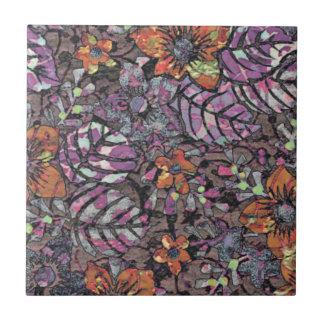 Pastel Colours floral pattern romantic digital art Tile