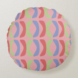 Pastel Communication Round Cushion