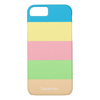Pastel Cosmetic Colors iPhone 8/7 Case