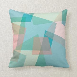 Pastel crams cushion