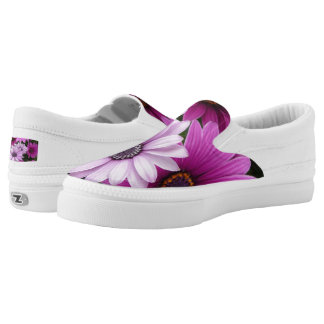 Pastel Daisies Low Top Sneakers