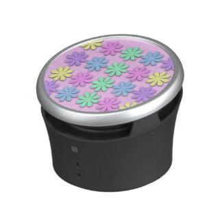 Pastel Daisy Pattern Bumpster Speakers Speaker