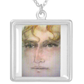 pastel daniel silver plated necklace