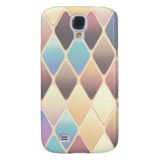 Pastel Diamond Mosaic Galaxy S4 Case