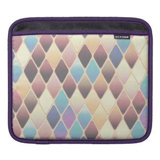 Pastel Diamond Mosaic iPad Sleeve