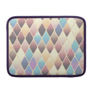 Pastel Diamond Mosaic MacBook Sleeve