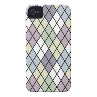 Pastel Diamonds Argyle iPhone 4 Cases