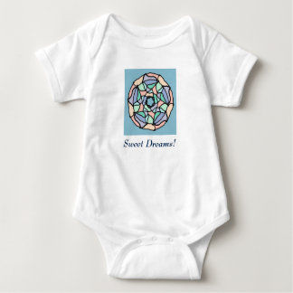 Pastel Dreams Baby Bodysuit