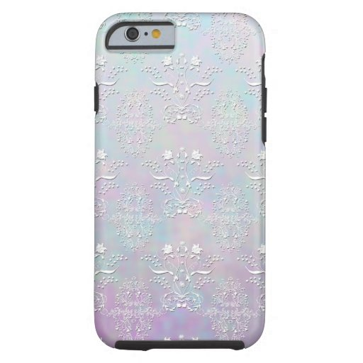 Pastel Dreams Damask Pattern iPhone 6 Case
