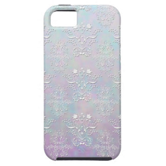 Pastel Dreams Damask Pattern iPhone 5 Case