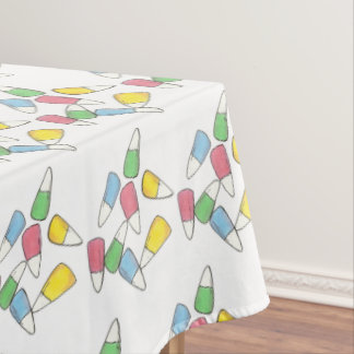 Pastel Easter Basket Candy Corn Candycorn Candies Tablecloth