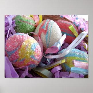 Pastel Easter Eggs Print