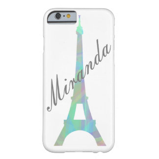 Pastel Eiffel Customised Phone Case