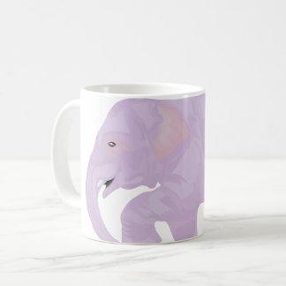Pastel elephant mug