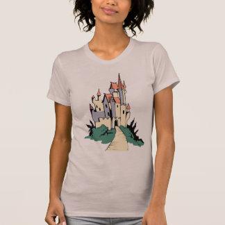 Pastel Fairytale Castle T Shirt