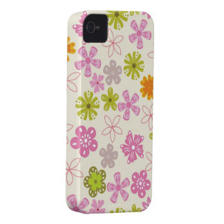 Pastel Floral Iphone 4S Case iPhone 4 Case-Mate Cases