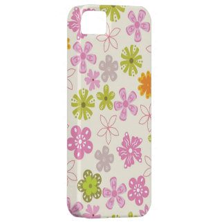 Pastel Floral Iphone 5S Case Barely There iPhone 5 Case
