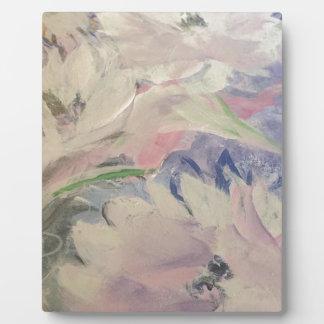Pastel Floral Plaque