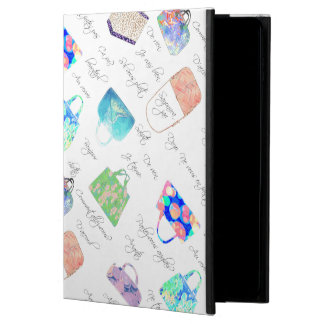 Pastel Floral Watercolor Illustrations Typography Powis iPad Air 2 Case