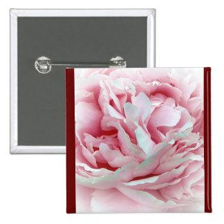Pastel Flower 15 Cm Square Badge