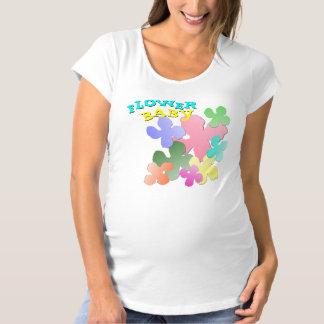 Pastel Flower Collage FLOWER BABY T-shirts