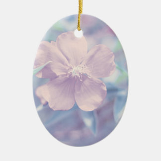 Pastel Flower Christmas Tree Ornaments