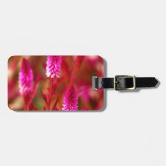 Pastel Flower Luggage Tag