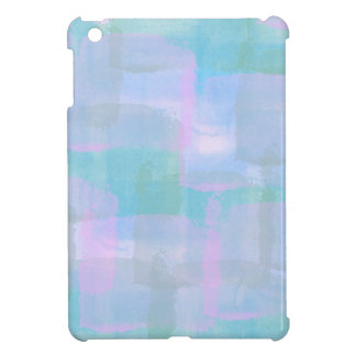 Pastel Geometric Lines iPad Mini Case