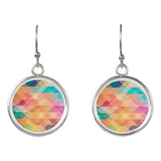 Pastel Geometry Earrings