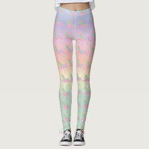 c00a5aa38b131 Women's Rainbow Yoga Pants Gifts Leggings & Tights   Zazzle AU