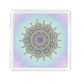 Pastel Glow Mandala ID359