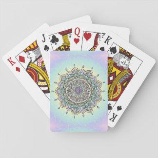Pastel Glow Mandala ID359 Playing Cards