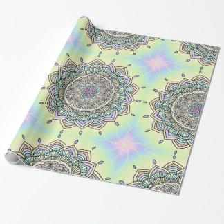Pastel Glow Mandala ID359 Wrapping Paper