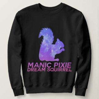 Pastel Goth Manic Pixie Dream Squirrel Sweatshirt
