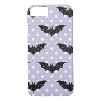 Pastel Goth Phone Case Spooky Cute Bats Kawaii