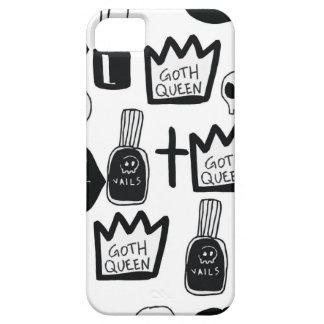 pastel goth, queen, horror, terror, gothic, femini iPhone 5 cover