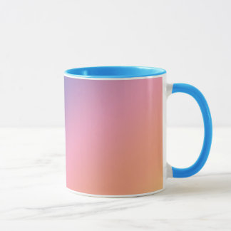 Pastel Gradient Blue Mug