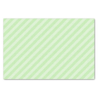 Pastel Green Striped Tissue Paper