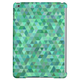Pastel green triangles