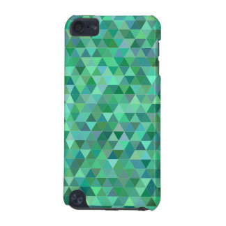 Pastel green triangles iPod touch 5G cover